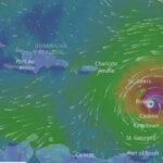"""Huracán María creció a categoría 4 y amenaza ser """"extremadamente peligroso"""""""