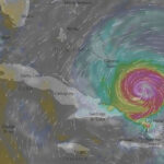 Cuba: Guantánamo empezó a sentir esta noche primeros efectos de Irma (VIDEO)