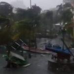 Puerto Rico: Huracán Irma llegó con intensas lluvias, mujer muere de infarto (VIDEO)