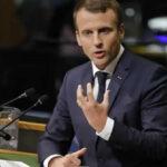 ONU: Macron advierte que el Acuerdo Climático no volverá a negociarse