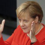 Merkel reivindica su legado de cara a elecciones, pero pide no confiarse