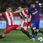 Liga Santander: Barcelona en primer derbi catalán gana 3-0 al Girona