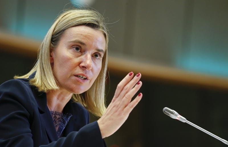 Mogherini insiste en que el acuerdo nuclear con Irán está funcionando