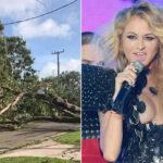 EEUU: Paulina Rubio endeudada, Irma destrozó su mansión en Miami