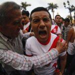 Selección peruana: Mira cómo celebró la afición en la Plaza Mayor (FOTOS)