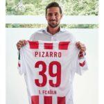 Pizarro firma un nuevo capítulo en la Bundesliga con el FC Colonia