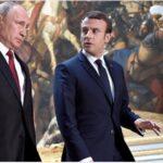 """Macron urge a Putin a avanzar """"más rápido"""" para solucionar la guerra en Siria"""