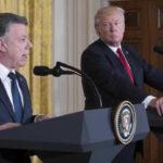 Santos responde a Trump: Somos el país que más ha combatido las drogas