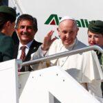 Avión del Papa hacia Colombia cambia su ruta para evitar el huracán Irma