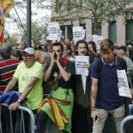 En libertad altos cargos de gobierno catalán detenidos por preparar consulta