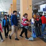 Censo 2017: Aeropuerto Jorge Chávez atendió con normalidad a viajeros
