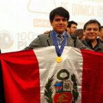 Estudiante peruano logra medalla de oro en Olimpiada Iberoamericana de Química