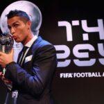 "Cristiano Ronaldo gana el trofeo ""The Best"" 2017 a mejor jugador del mundo"