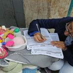 Censo 2017: Joven madre empadronó viviendas junto a su bebé