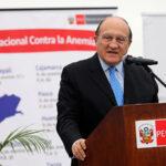 Ministro de Salud afirma que Perú tiene que llegar a 2021 sin casos de anemia