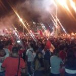 Selección peruana: Miles de hinchas dan calurosa recepción a la bicolor en Ezeiza