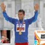 Campeón mundial de marcha enciende pebetero de XVIII Juegos Bolivarianos