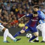 Liga Santander: Barcelona afianza su liderato al vencer por 2-0 al Málaga