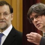 """Rajoy rechaza diálogo con presidente catalán a quien acusa de """"chantaje"""""""