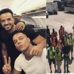 Huracán María: Ricky Martin, Fonsi y Chayanne llevan ayuda a Puerto Rico