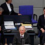 Alemania: Wolfgang Schäuble elegido nuevo presidente del Bundestag