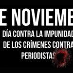 Unesco: Mensaje por Día Internacional contra la Impunidad de Crímenes contra Periodistas
