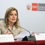 Mercedes Aráoz: Edgar Quispe facilitará proceso de reconstrucción