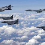 Bombarderos de EEUU sobrevuelan península coreana en acto de fuerza (VIDEO)