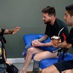 Neymar aparece en entrenamiento del Barcelona