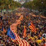 Cataluña: Alistan para mañana huelga general en apoyo a referéndum