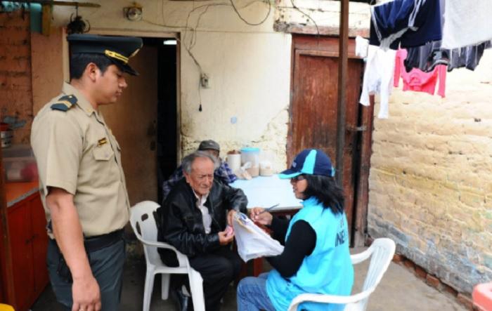 Censos 2017: Quienes no acaten inamovilidad serán empadronados en comisarías