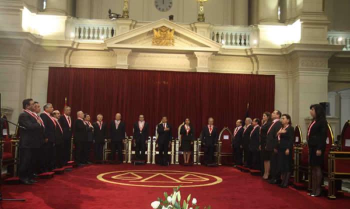 Poder Judicial emite acuerdos de pleno casatorio sobre lavado de activos — PERÚ
