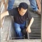 Capturan a Vicente Díaz Arce escondidoen el cuarto de motores de su piscina (VIDEO)