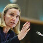 UE: Mogherini asegura que no corresponde a ningún país poner fin al acuerdo iraní