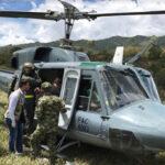 Colombia: Disidentes de las FARC disparan contra helicóptero del Ejército