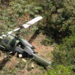 Colombia: Helicóptero militar en misión de traslado se estrella y deja 10 heridos