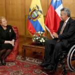Ecuador y Chile firman acuerdos de cooperación en cumbre bilateral de Galápagos