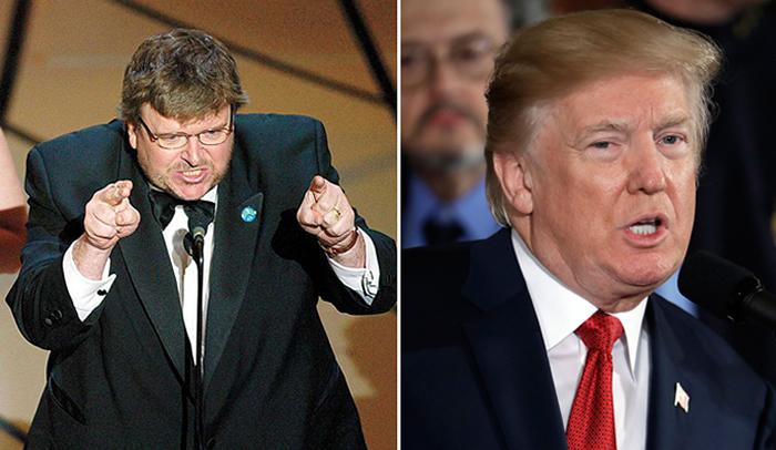 Michael Moore se lanza contra Donald Trump y le dice 'perdedor'