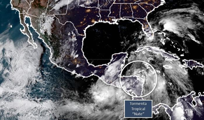 Gobernador de Florida declara alerta por tormenta Nate