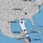 EEUU: Se forma tormenta tropical Natey avanza hacia la costa de Nicaragua