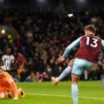Premier League: Newcastle en último partido de la 10ª jornada cae 1-0 ante el Burney