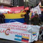 Movilización en Argentina apoya al chavismo en comicios venezolanos