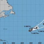 Tormenta Ofelia alcanzaría este lunes a España convertida en huracán (VIDEO)