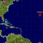 EEUU: Se forma nueva tormenta tropical Ofelia en el Oceáno Atlántico (VIDEO)