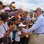 Presidente Kuczynski supervisa trabajos en los ríos Piura y Chira