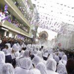 Imagen del Señor de los Milagros inició recorrido por Viernes Santo (VIDEO)