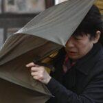 Japón: Al menos 6 muertos por el paso del potente tifón Lan