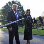 EEUU: Trump se negó hablar sobre control de armas en su visita a Las Vegas (VIDEO)