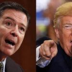 """Trump acusa a ex jefe de FBI Comey de """"arreglar"""" pesquisa de Hillary Clinton"""