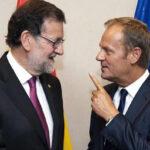 Consejo Europeo pide a Rajoy buscar solución en Cataluña sin usar la fuerza